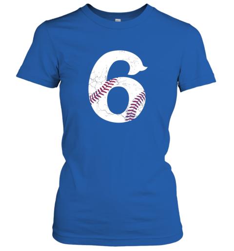 q3dg kids happy birthday 6th 6 year old baseball gift boys girls 2013 ladies t shirt 20 front royal