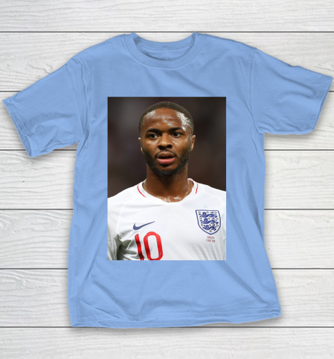 Sterling 10 England Football Team Youth T-Shirt 7