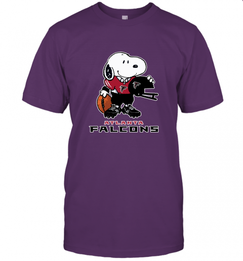 Snoopy A Strong And Proud Atlanta Falcons Player NFL Unisex Jersey Tee