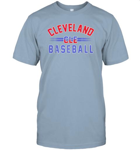 wvmo cleveland cle baseball jersey t shirt 60 front light blue