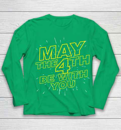 May the 4th be with you Star Wars Youth Long Sleeve 4