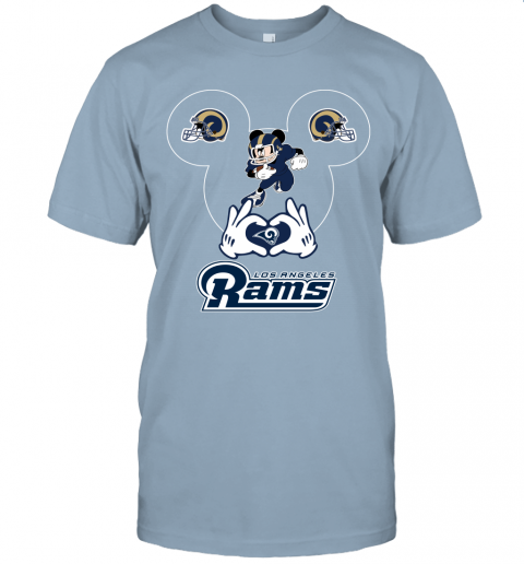 2nxj i love the rams mickey mouse los angeles rams jersey t shirt 60 front light blue