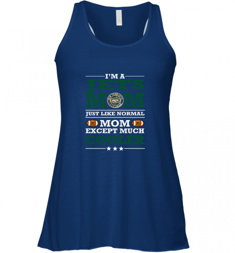 vqe2 i39 m a jets mom just like normal mom except cooler nfl flowy tank 32 front true royal