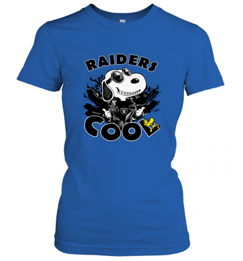 unne oakland raiders snoopy joe cool were awesome shirt ladies t shirt 20 front royal