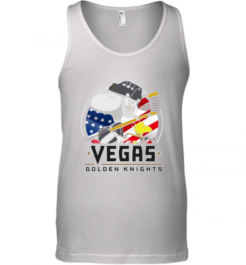 Vegas Golden Knights Ice Hockey Snoopy And Woodstock NHL Tank Top