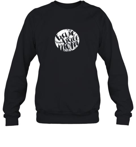 Distressed Baseball Mom Shirts for Women Gift for Team Mom Sweatshirt
