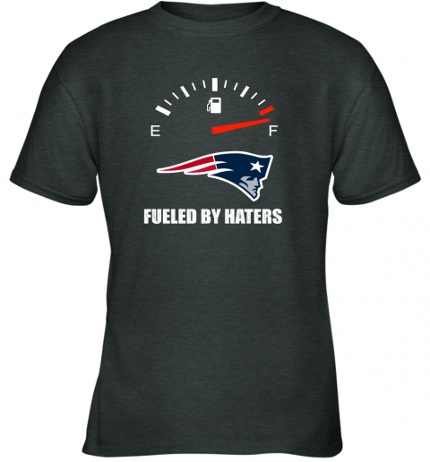 kulz fueled by haters maximum fuel new england patriots youth t shirt 26 front dark heather