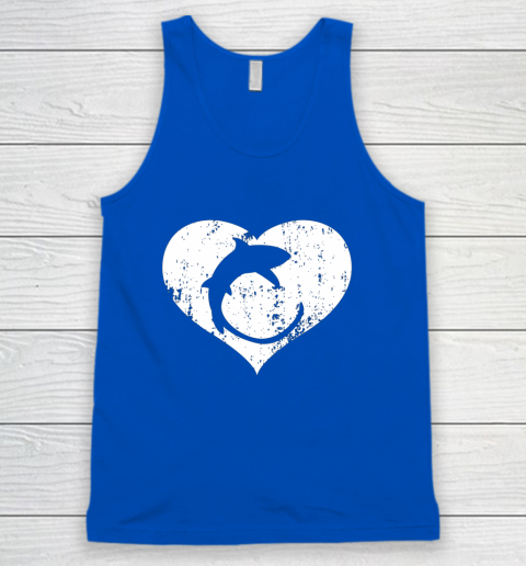 I Love Sharks Gifts Thresher Shark Heart Valentine Gift Tank Top 4