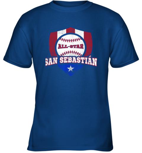 1nbq san sebastian puerto rico puerto rican pr baseball youth t shirt 26 front royal