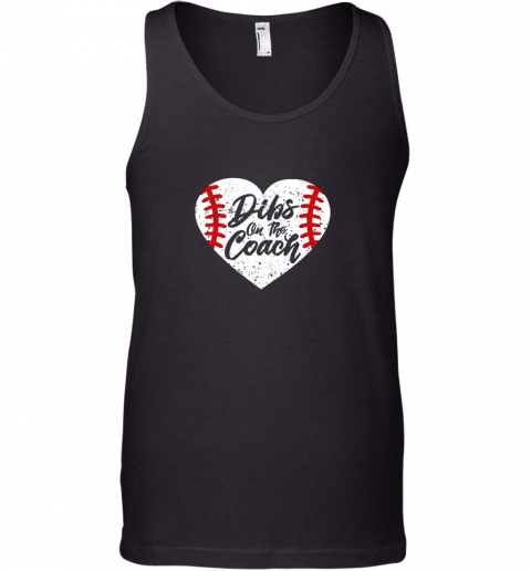 Dibs On The Coach Funny Baseball Tank Top