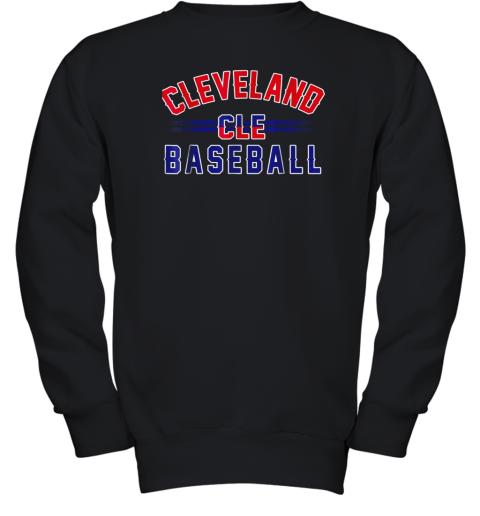 Cleveland CLE Baseball Youth Sweatshirt