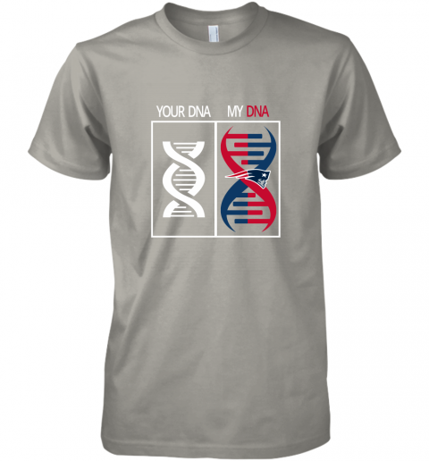 xzvx my dna is the new england patriots football nfl premium guys tee 5 front light grey