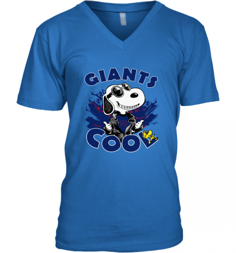 rgqk new york giants snoopy joe cool were awesome shirt v neck unisex 8 front royal