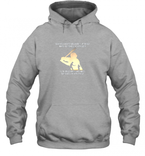 u9rh mens behind every baseball player is a dad that believes hoodie 23 front sport grey