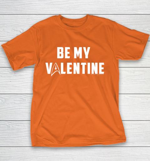 Star Trek Be My Valentine Delta Badge Graphic Youth T-Shirt 4