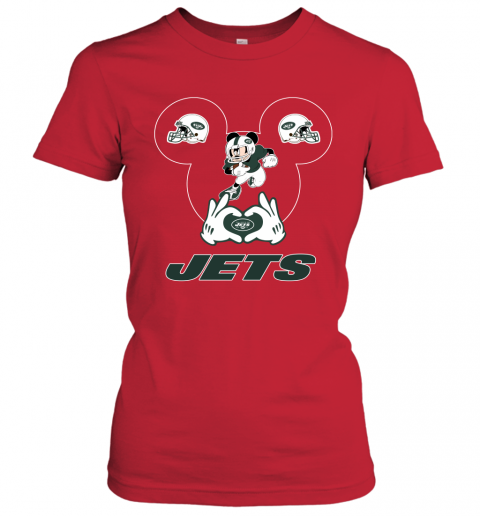 p4io i love the jets mickey mouse new york jets ladies t shirt 20 front red