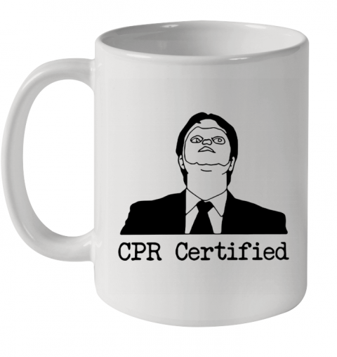 First Aid Fail CPR Certified The Office Ceramic Mug 11oz