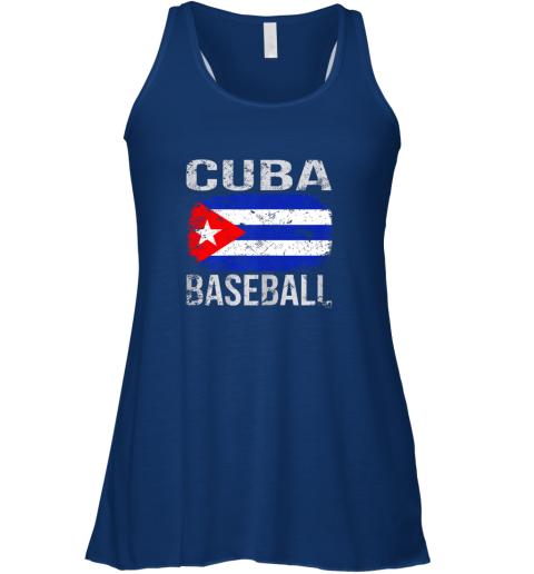owol cuba baseball cuban flag flowy tank 32 front true royal