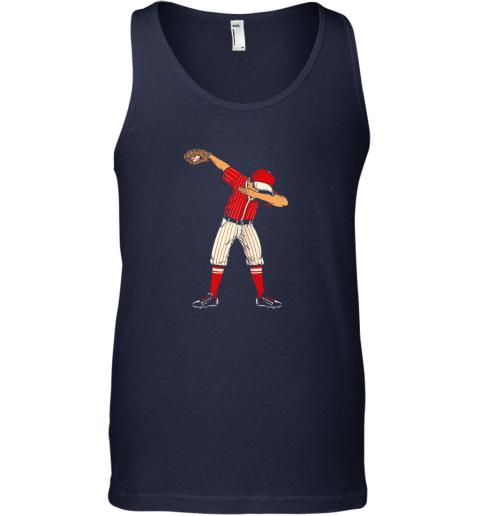 xim4 dabbing baseball catcher gift shirt men boys kids bzr unisex tank 17 front navy
