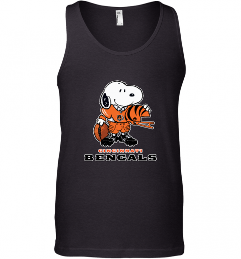 Snoopy A Strong And Proud Cincinnati Bengals NFL Tank Top