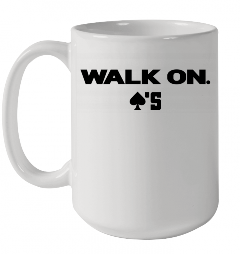 baker mayfield walk on Ceramic Mug 15oz
