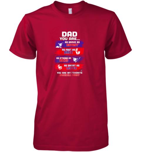 pmxf javier baez baseball buddy shirtapparel premium guys tee 5 front red