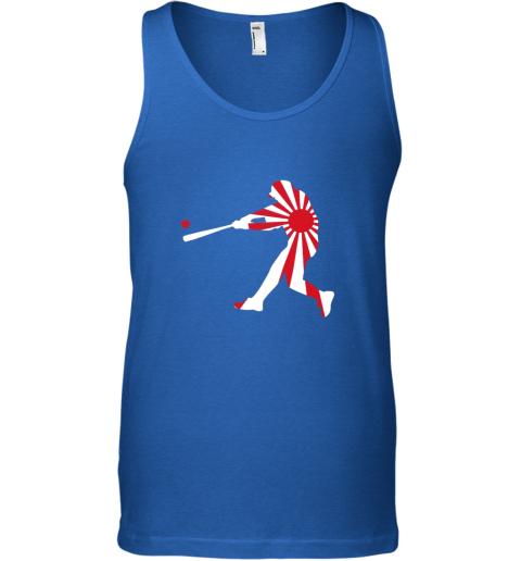 slqe japan baseball shirt jpn batter classic nippon flag jersey unisex tank 17 front royal