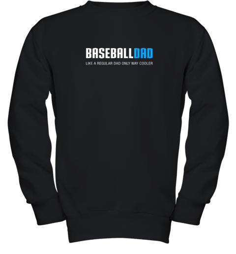 Mens Baseball Dad Shirt, Funny Cute Father's Day Gift Youth Sweatshirt