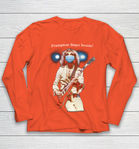 Peter Frampton Covid Stays Inside Youth Long Sleeve 3