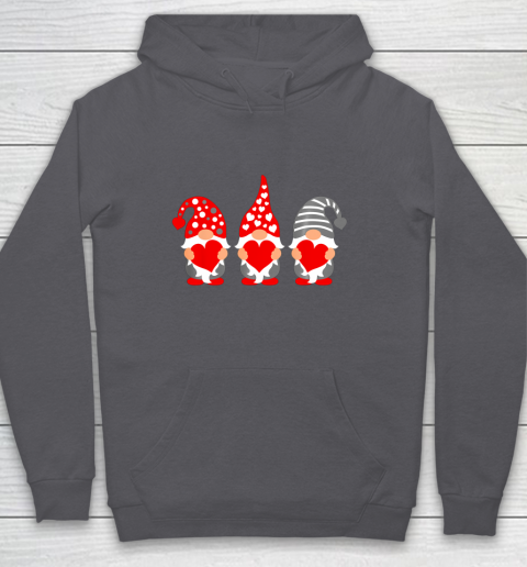 Gnomes Hearts Valentine Day Shirts For Couple Hoodie 4