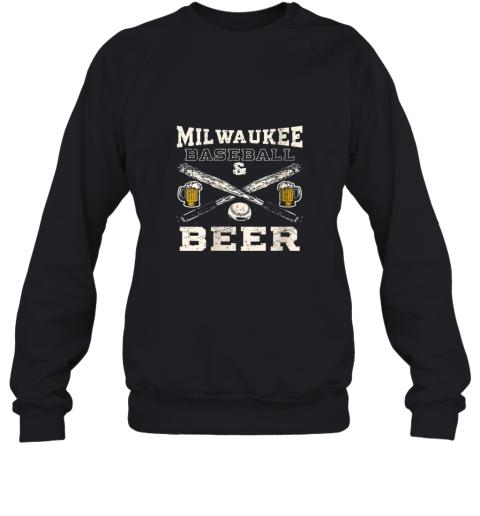 Love Milwaukee Love Baseball Sweatshirt