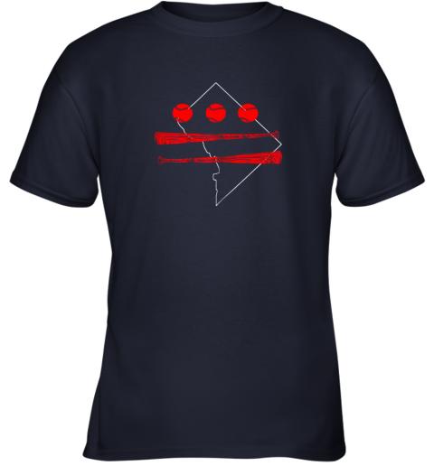 jjxo washington dc map capitol baseball flag youth t shirt 26 front navy
