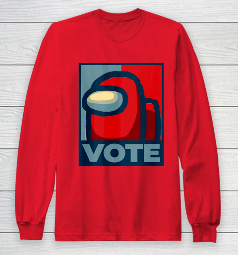 Who is the Impostor neu Among with us start the vote Long Sleeve T-Shirt 10
