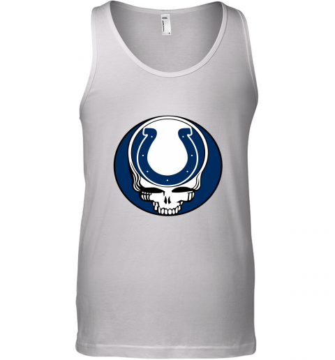NFL Team Indianapolis Colts x Grateful Dead Logo Band Tank Top