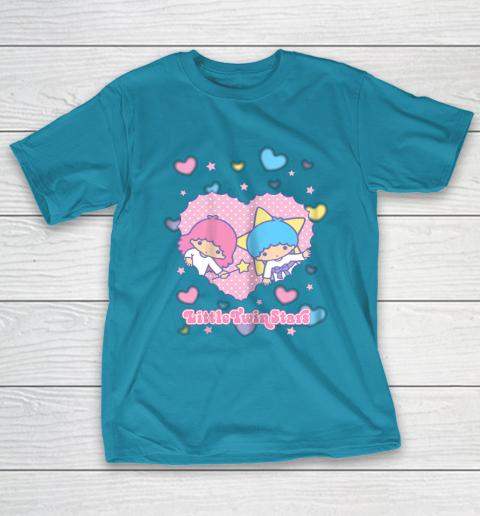 Little Twin Stars Retro Logo Valentine T-Shirt 7