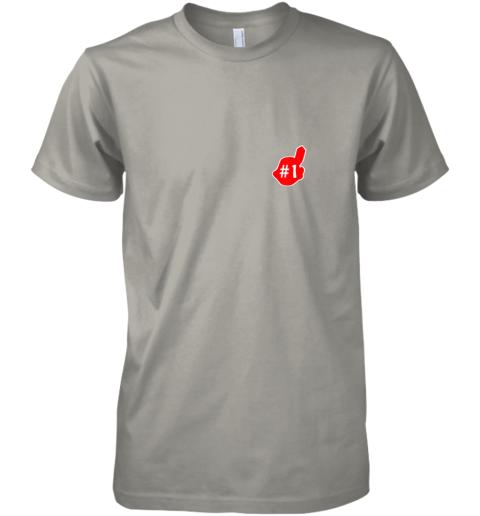 v52n 1 cleveland hometown indian tribe vintage baseball fans premium guys tee 5 front light grey