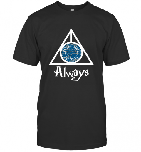 Always Love The Detroit Lions x Harry Potter Mashup NFL T-Shirt