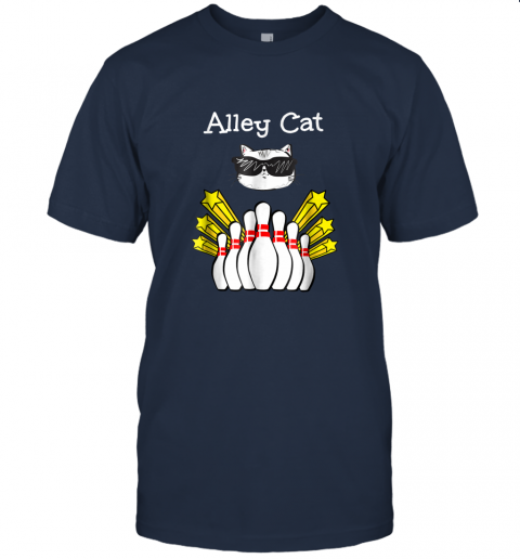 Cool Alley Cat Bowling, Funny Bowling Gifts T-Shirt