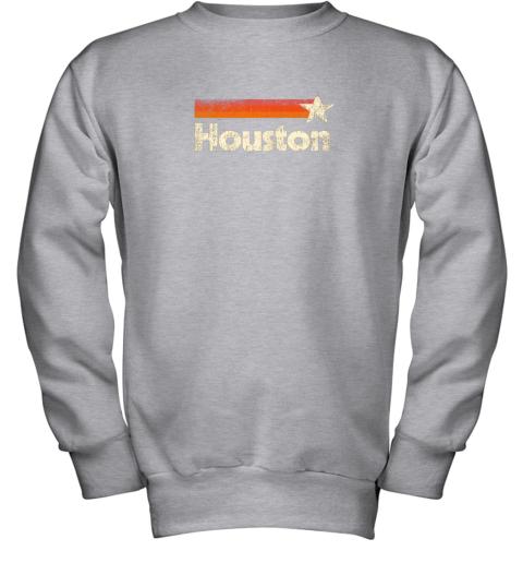 t0lx houston texas shirt houston strong shirt vintage stripes youth sweatshirt 47 front sport grey