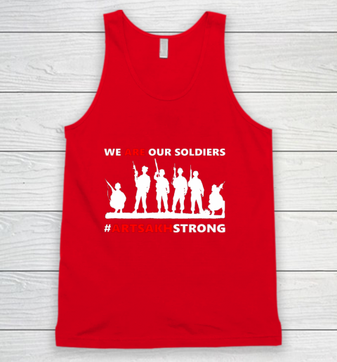 We Are Our Soldiers Tank Top 5
