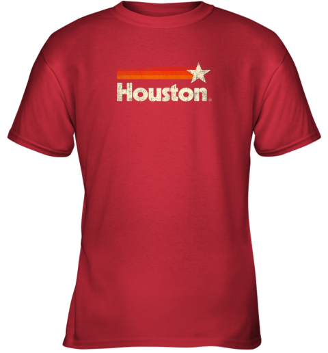 rupp houston texas shirt houston strong shirt vintage stripes youth t shirt 26 front red