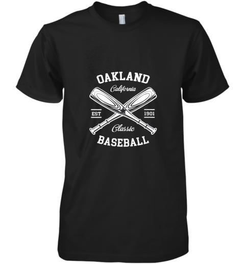 Oakland Baseball, Classic Vintage California Retro Fans Gift Premium Men's T-Shirt