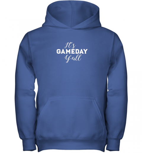 lolz it39 s game day y39 all football baseball basketball youth hoodie 43 front royal