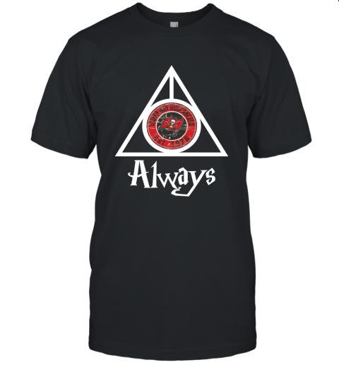 Always Love The Tampa Bay Buccaneers x Harry Potter Mashup Unisex Jersey Tee