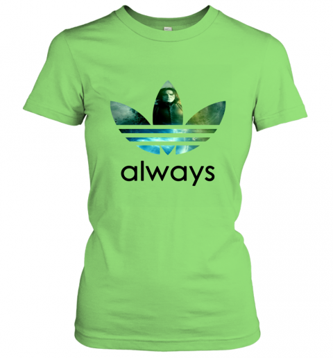 x4vk adidas severus snape always harry potter shirts ladies t shirt 20 front lime