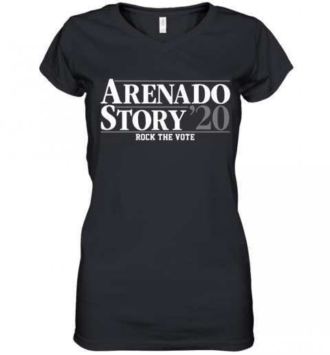 Arenado Story 2020 Women's V-Neck T-Shirt