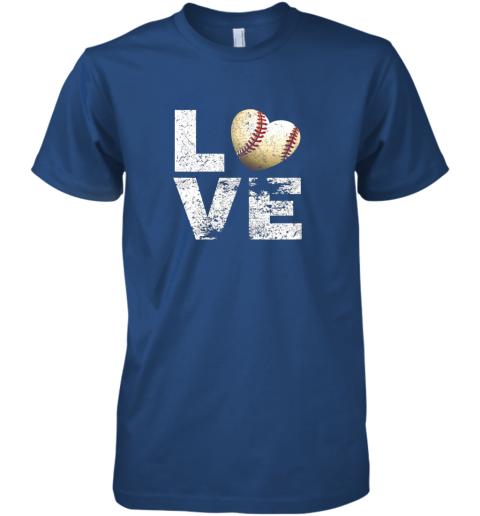 lkon i love baseball funny gift for baseball fans lovers premium guys tee 5 front royal