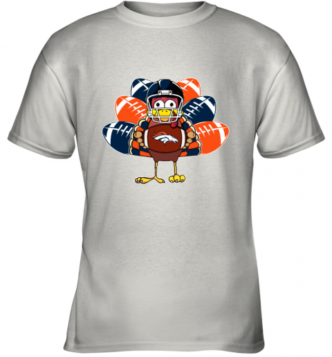 Denver Broncos  Thanksgiving Turkey Football NFL Youth T-Shirt