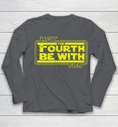 Star Wars Shirt May The 4th Be With U You  Fourth  Funny Movie Youth Long Sleeve 6