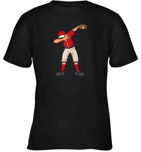 Dabbing Baseball Catcher Gift Shirt Kids, Men, Boys BZR Youth T-Shirt